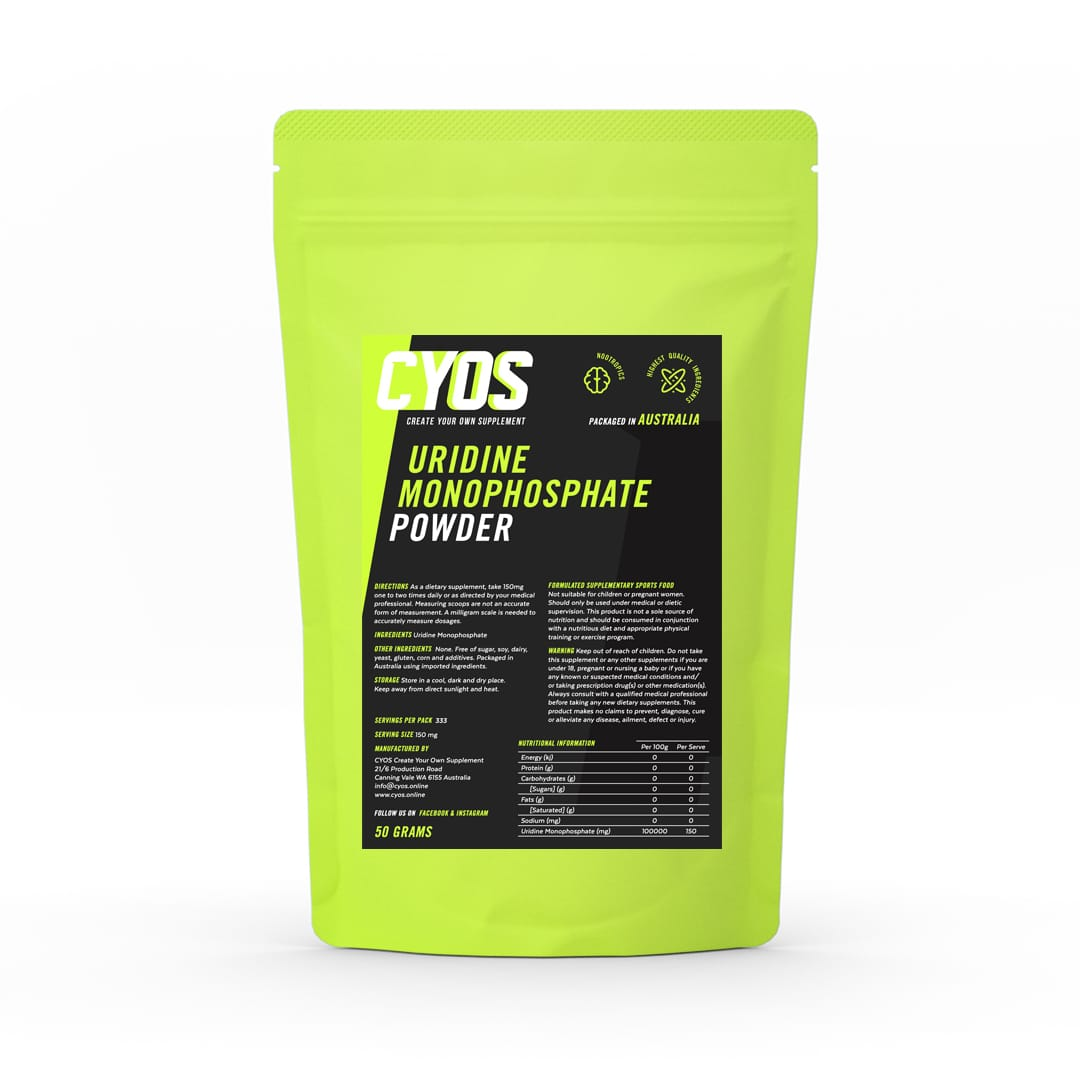 Uridine Monophosphate Powder - Biosciencenutra
