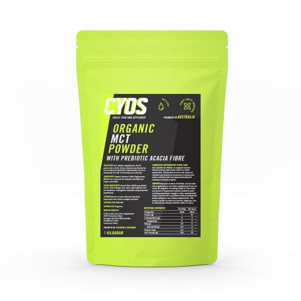 mct powder Medium-chain triglyceride