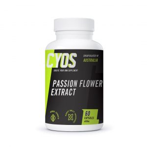 Passion flower extract capsules