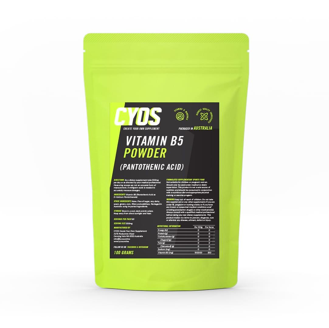 High Quality! Vitamin B5 Calcium D-Pantothenate   Powder  100 grams