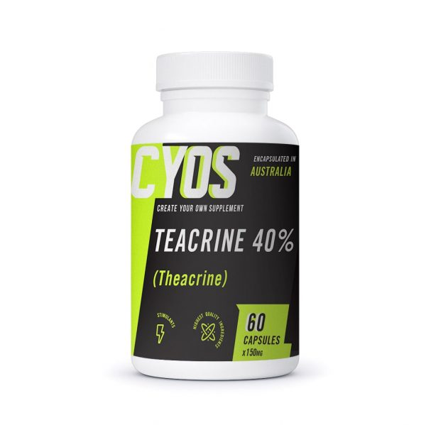 TeaCrine® 40% Capsules (150mg)