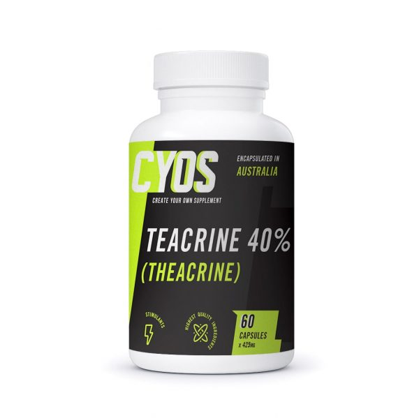TeaCrine® 40% Capsules (425mg)