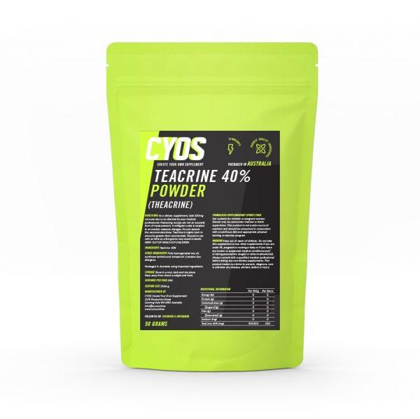 TeaCrine® 40% Powder