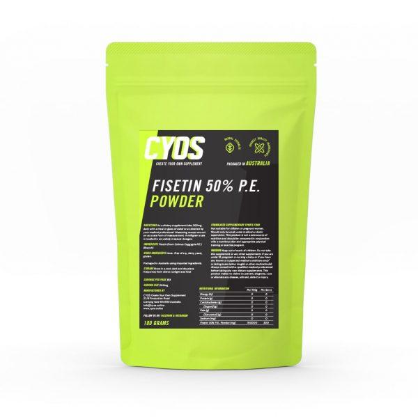 Fisetin 50% P.E. Powder